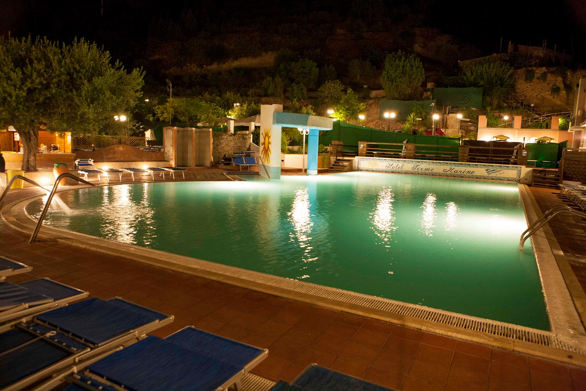 piscina serale